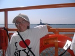 Me on ferry in New York