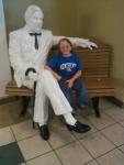 Me and colonel sanders