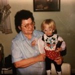 My grandmother and I