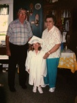 My grandparents and I on my high school graduation