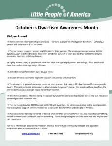 Facts on Dwarfism